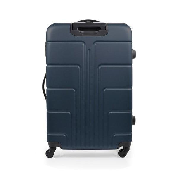 Sada 3 modrých kufrov na kolieskach Blue Star Ottawa