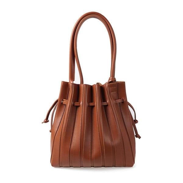 Hnedá kabelka z eko kože Beverly Hills Polo Club Hannah