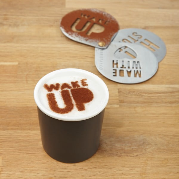 Šablóny na cappuccino Barista & Co Stencils