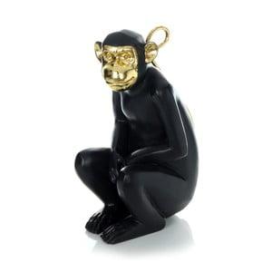 Čierna dekoratívna soška 360 Living Primate 422