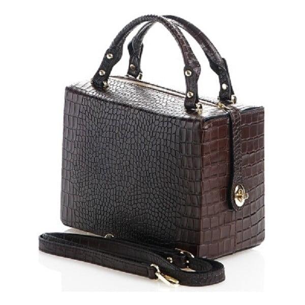 Kožená kabelka Emilie, hnedá