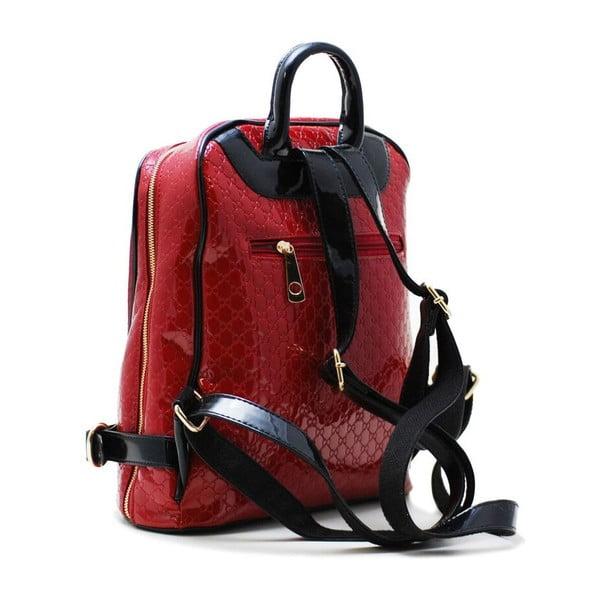 Kožený batoh Sandy Red