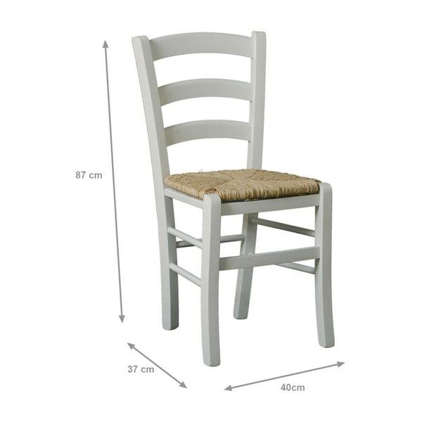 Jedálenská stolička s konštrukciou z masívneho bukového dreva Caroline