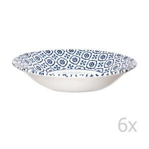 Sada 6 ks hlbokých tanierov Tuscany, 20 cm