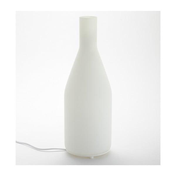 Biela stolová lampa ComingB Long Bottle