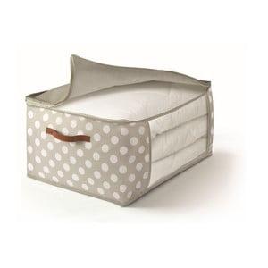 Béžový úložný box na prikrývky Cosatto Jolie, 45x60cm