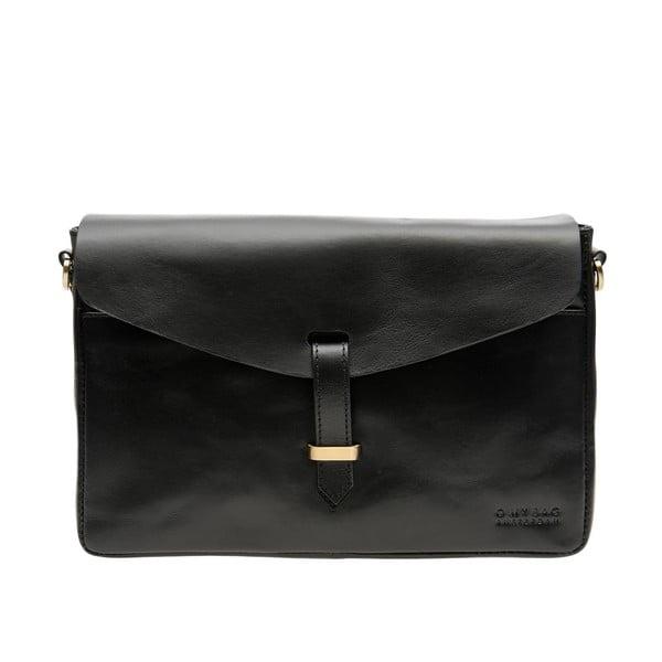 Kožená kabelka Ally, čierna