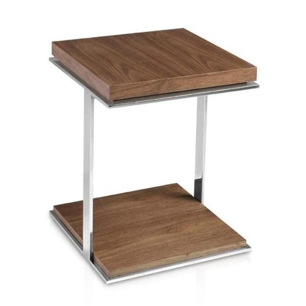 Príručný stolík z orechového dreva Ángel Cerdá Martirio