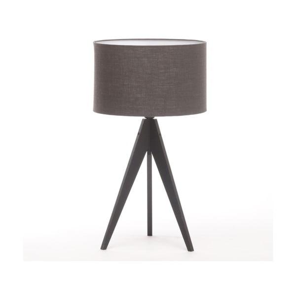 Stolná lampa Arist Dark Grey/Black