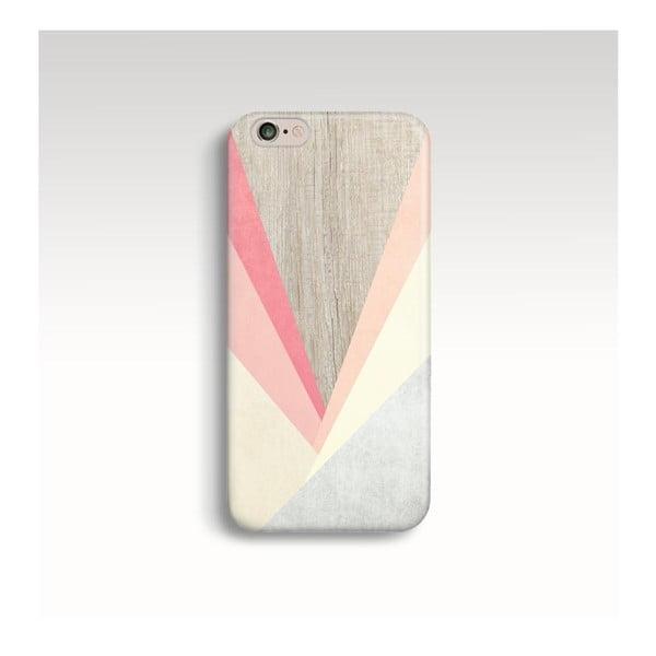 Obal na telefón Wood Triangles III pre iPhone 6/6S