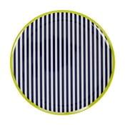 Tanier s pruhovaným motívom Premier Housewares Mimo, ⌀ 25 cm