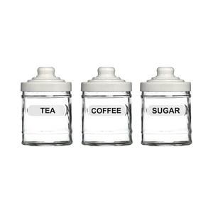 Sada 3 dóz na čaj, kávu a cukor Premier Housewares, 760ml