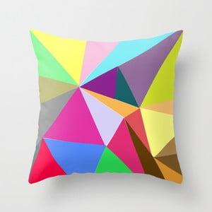 Obliečka na vankúš Triangle II, 45x45 cm