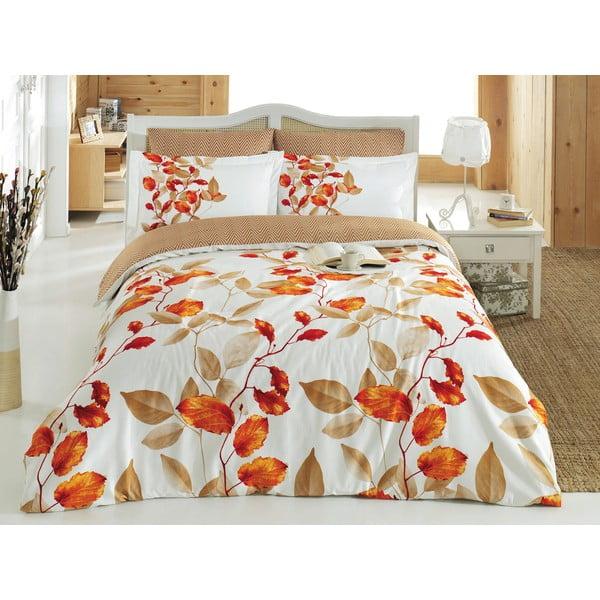 Obliečky z bavlneného saténu s plachtou Fade, 200 x 220 cm