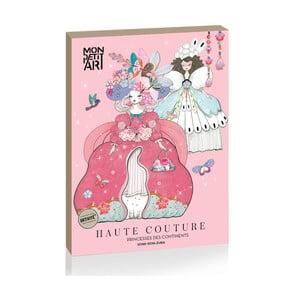 Papierová bábika Mon Petit Art Princesses des Continents