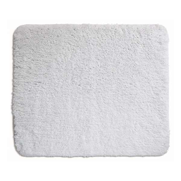Biela kúpeľňová podložka Kela Livana, 80x50cm