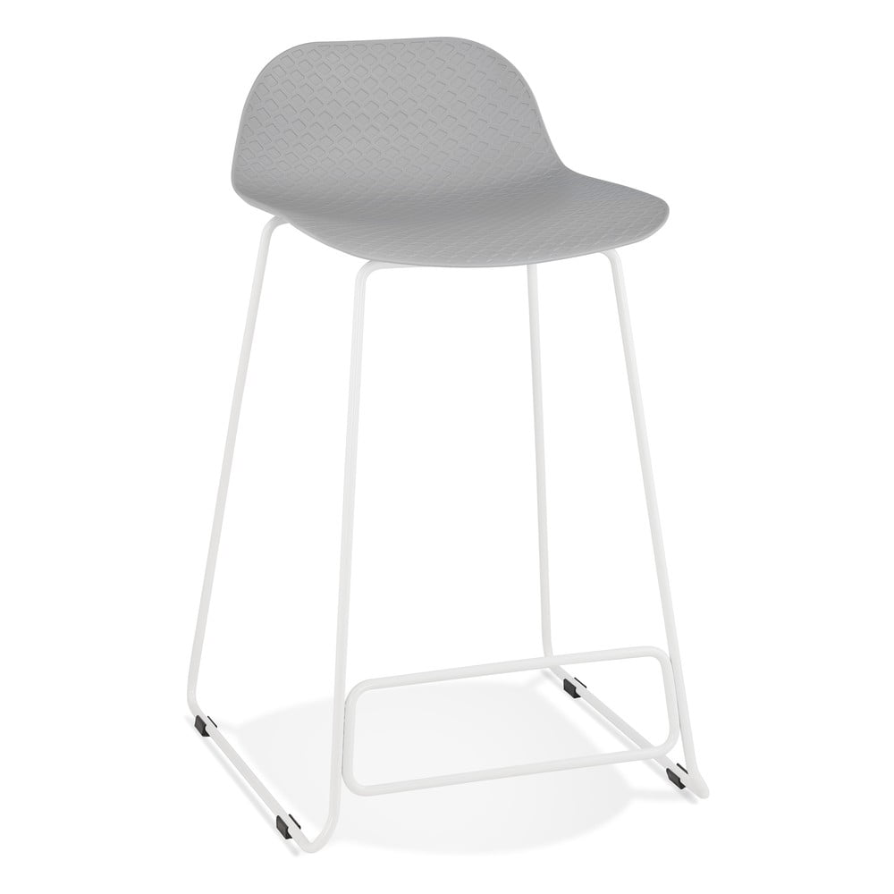 Sivá barová stolička Kokoon Slade Mini, výška sedu 66 cm