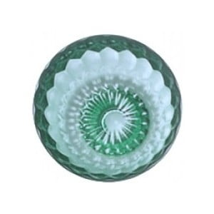 Zelený háčik Kartell Jellies, ⌀9,5cm