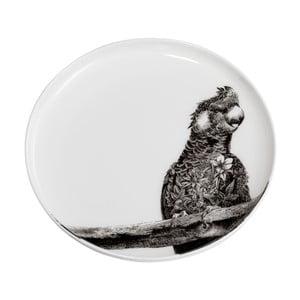 Dezertný tanierik z kostného porcelánu Maxwell & Williams Marini Ferlazzo Africa Cocatoo, ⌀ 20 cm