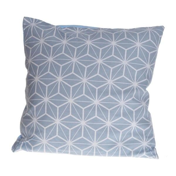 Vankúš Ewax Geometric Blue, 40×40cm