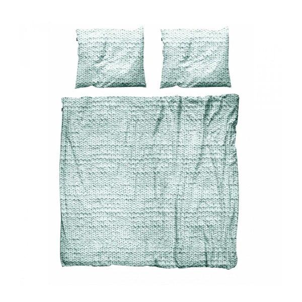 Zelené obliečky Snurk Twirre,200x200cm