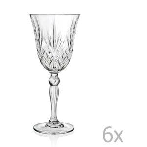 Sada 6 pohárov na sekt RCR Cristalleria Italiana Grazia