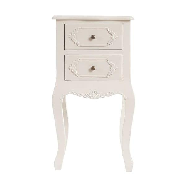 Nočný stolík Baroque Creamy White
