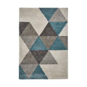 Sivomodrý koberec Think Rugs Royal Nomadic, 160 x 220 cm