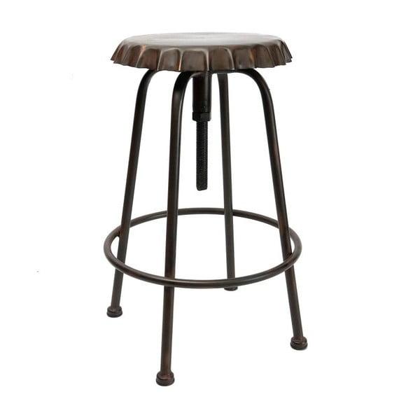 Kovová stolička Antic Line Tabouret Antique Soda