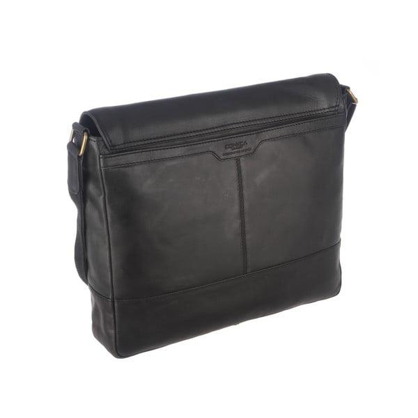 Kožená taška Postie Raven