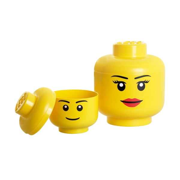 Úložný panáčik LEGO® Girl, Ø24,2cm