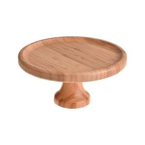 Bambusový servírovací tanier Bambum Lisa, ø 20 cm
