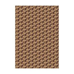 Hnedý koberec Universal Nilo, 133x190cm
