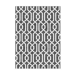Ručně tkaný koberec Camila Grey, 155x240 cm