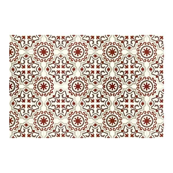 Koberec z vinylu Mosaico Trebol Rojo, 160x230 cm