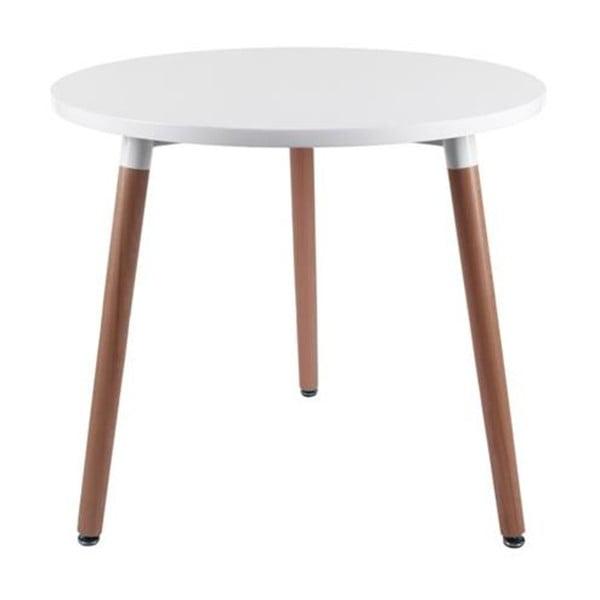 Stôl D2 Copine, 80 cm, biely