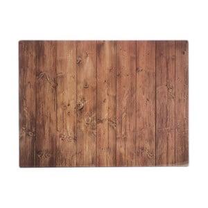 Hnedá pracovná doska s motívom dreva Typhoon 40 x 30 cm