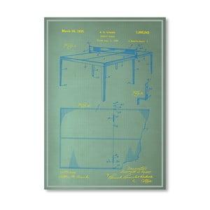Plagát Table Tennis, 30x42 cm