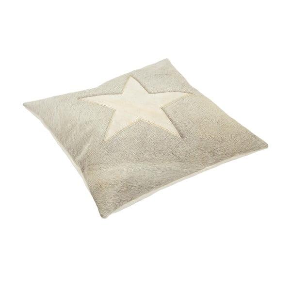 Vankúš Capa Star Grey, 45x45 cm