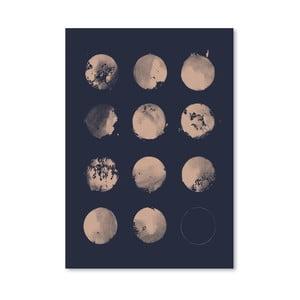 Plagát 12 Moons od Florenta Bodart, 30x42 cm