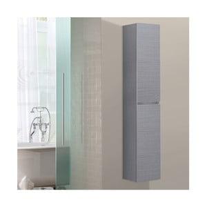 Kúpeľňová závesná skrinka Column, odtieň sivej