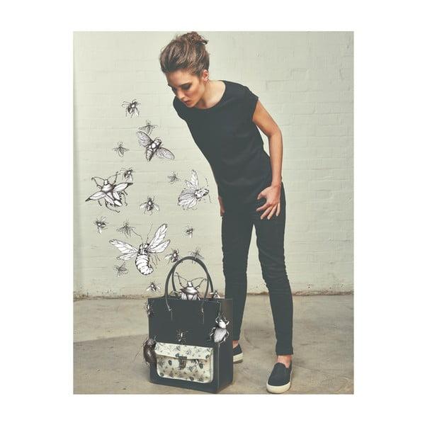 Kožená kabelka Taylor Mini Royal Black