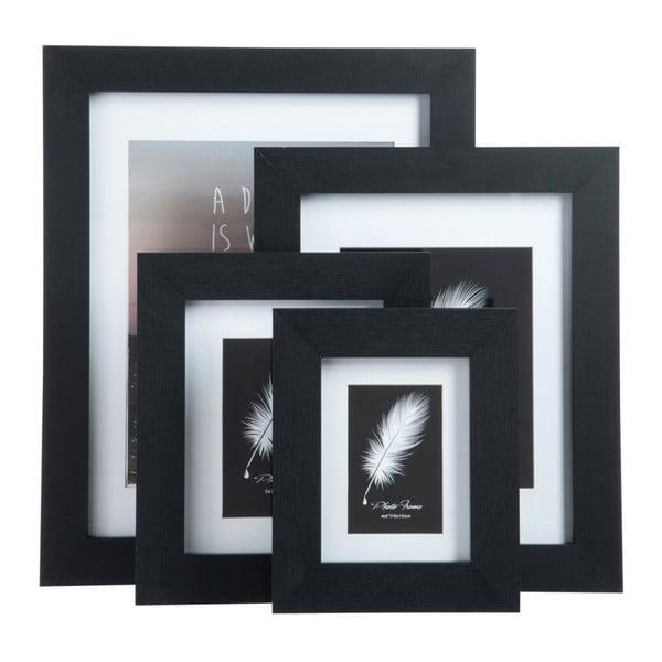 Rámik na fotografiu 27x35 cm, čierny