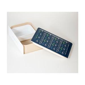 Desiatový box Metsa Joli Bento Metsa Book Blue, 500ml