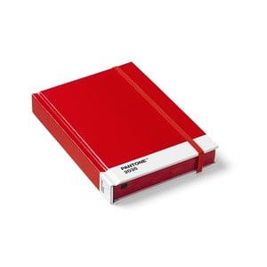 Malý červený zápisník Pantone
