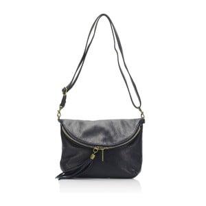 Modrá kožená kabelka Lisa Minardi Renae