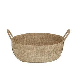 Pletený košík z morskej trávy A Simple Mess, ⌀46cm