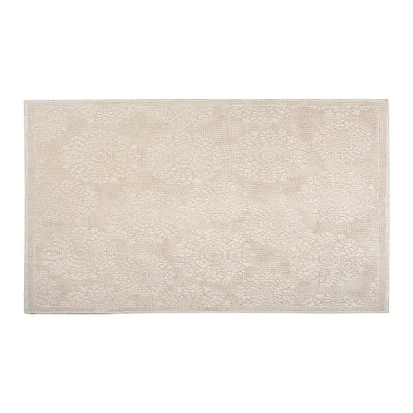 Bavlnený koberec Ganda 80x150 cm, krémový