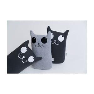 Vankúšik Mačička, sivý