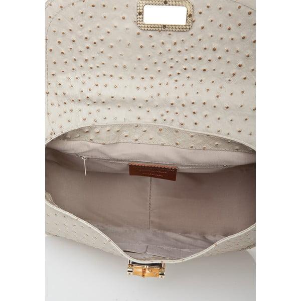 Kožená kabelka Markese 7022 Taupe
